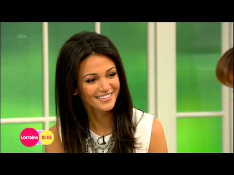 corriextra.co.uk  Michelle Keegan quick chat with Lorraine