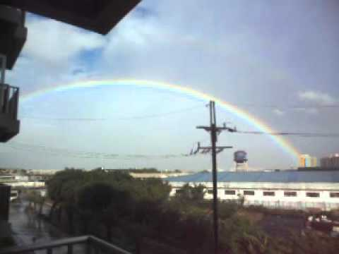 AMAZING RAINBOW NEVER BEFORE SEEN BY MY NAKED EYE IN PH