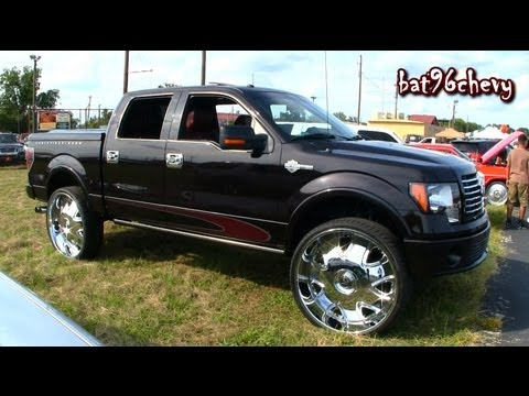 2010 Ford F-150 Truck LIFTED on 32's. DUB Banditos - 1080p HD