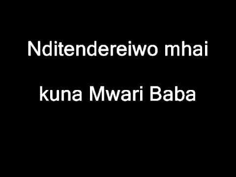 Zimbabwe Catholic Shona Songs - Handigoni Kukutendai Zvakakwana with LYRICS.wmv