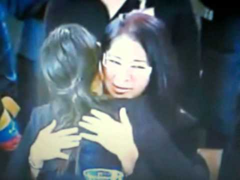 María Gabriela hija de Chávez evade saludo de Nicolás Maduro