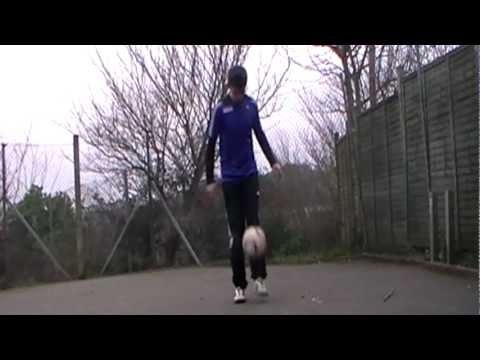 Learn football freestyle  beck atw tutorial batw