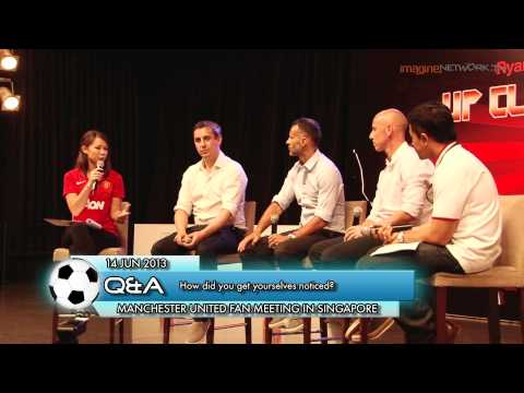 Ryan Giggs, Gary Neville, Nicky Butt Interview Part 1