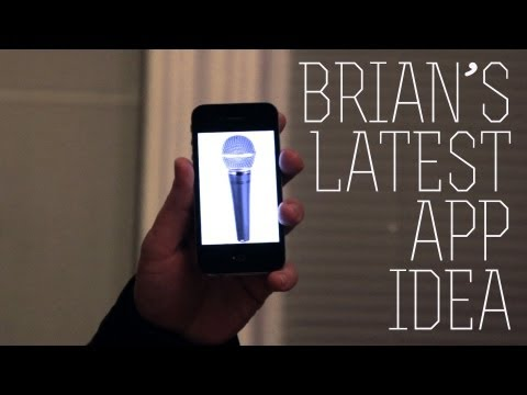 Brian's Latest App Idea