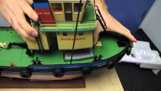 Arctic Hobby Aqua Rider 703 RC Tugboat Unboxing & First Look Linus Tech Tips