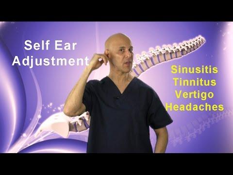 Self-Ear Adjustment / Relief of Sinusitis, Congestion, Tinnitis, Vertigo, & Headaches - Dr Mandell