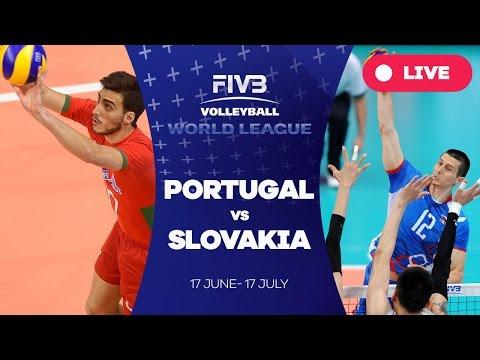 Portugal v Slovakia - Group 2: 2016 FIVB Volleyball World League