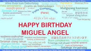 Miguel Angel   Languages Idiomas - Happy Birthday