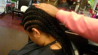 PREPARING MY HAIR FOR A FULL SEW IN WEAVE AND SALON NV.wmv