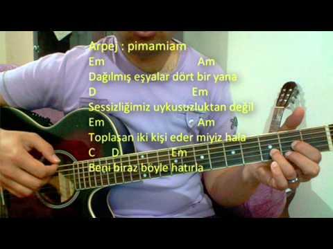 Gitar Dersi - Beni Biraz B�yle Hat�rla Emre Ayd�n