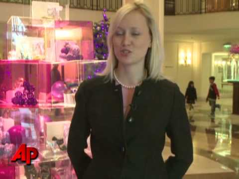 Tree Made of Designer Handbags, Shoes Video