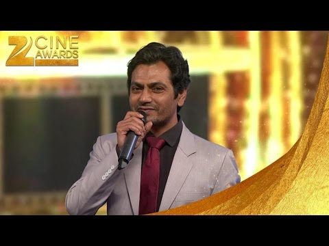 Zee Cine Awards 2016 Best actor in negative role Nawazuddin Siddiqui thumbnail
