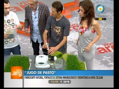 Vivo en Argentina - Inventos argentinos-Pasto de trigo - 25-11-11