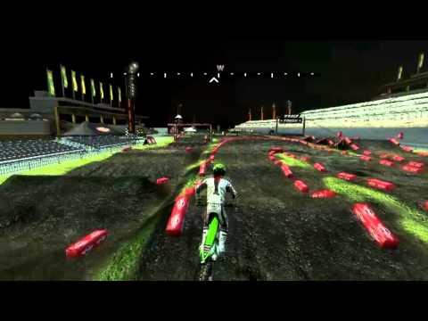 MX vs ATV REFLEX - Custom Track - 2013 Daytona Supercross