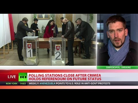 Crimea Referendum: 93% of voters want Crimea to join Russia - exit polls