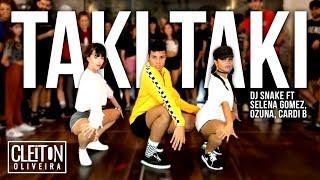 TAKI TAKI - DJ Snake, Cardi B, Ozuna & Selena Gomez  (COREOGRAFIA)  IG: @CLEITONRIOSWAG