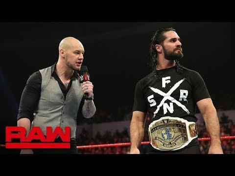 "Seth Rollins on Baron Corbin's ""abject failure"" running Raw: Raw, Dec. 10, 2018 thumbnail"