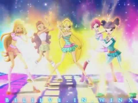 Winx Club Special:charmix Transformation With Aisha! Hd! video