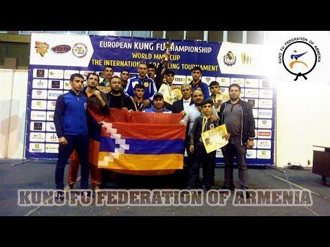 Скандал на ЧЕ по кунг-фу во Львове: азербайджанцы устроили драку из-за победы армянских бойцов