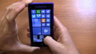 HTC Windows Phone 8X Review Part 1