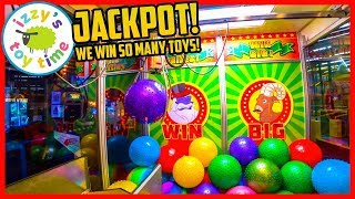 WE WIN EVERYTHING AT THE ARCADE! Tons of Toys at INDOOR PLAYGROUND