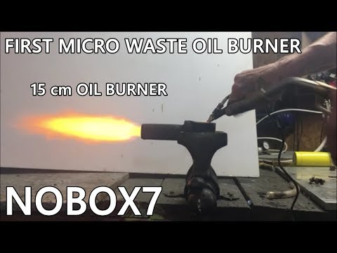 Waste oil burner MICRO TORCH