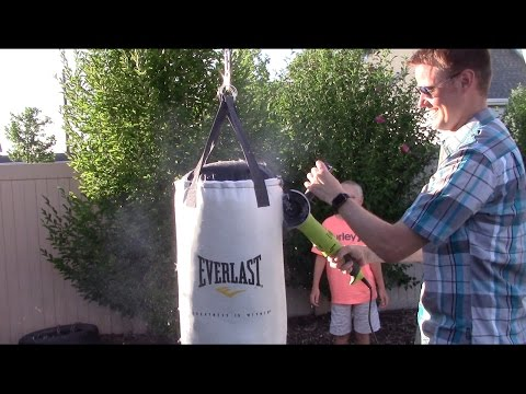 What's inside a Punching Bag?