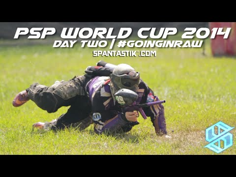 Day Two | #GoingInRaw | PSP World Cup 2014 | Spantastik™ x Paintball