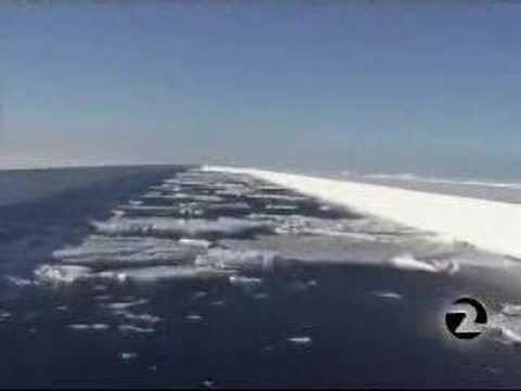 Massive Antarctic ice sheet collapses with global warming