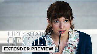 Fifty Shades of Grey | Ana Interviews Christian Grey