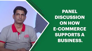 Panel discussion on how E-commerce
