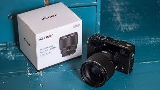 Viltrox 85mm f1.8 Auto Focus Lens for Fujifilm - A work in progress