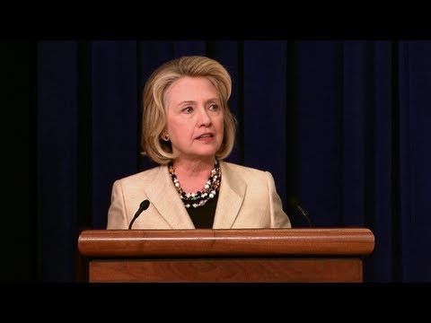 Former Secretary of State Clinton's Statement on Syria
