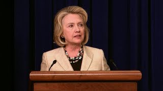Former Secretary of State Clinton's Statement on Syria  9/10/13