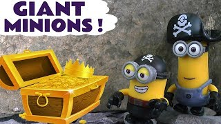 Despicable Me Minions GIANT Full Episodes Funny Compilation with Thomas and Friends Toy Trains TT4U