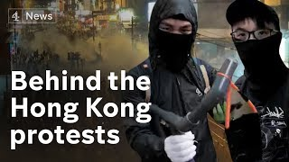 Behind the scenes with Hong Kong's 'Frontliner' protesters