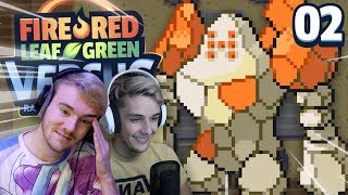 THE END OF THE WORLD | Pokémon Fire Red & Leaf Green Randomizer Nuzlocke Versus w/ GameboyLuke)