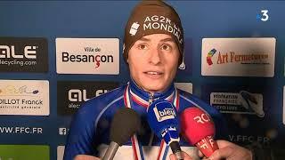 Les courses élites du championnat de France de cyclo-cross de Besançon