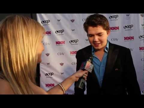 Damian McGinty Talks Glee, One Direction & Lindsay Lohan
