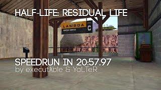Half-Life: Residual Life speedrun in 20:57.97