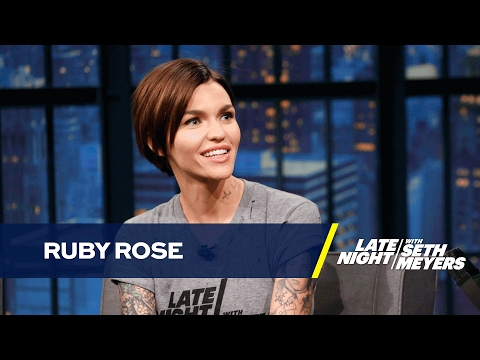 Ruby Rose Went from Call Center Leader to MTV VJ