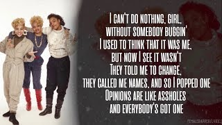 Salt-N-Pepa - None Of Your Business (Lyrics - Video)