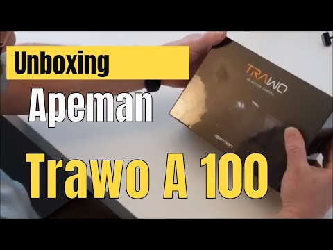 Unboxing Apeman Trawo A100 4k Action Cam - Review der Apeman Trawo Ultra HD 4k Action Camera
