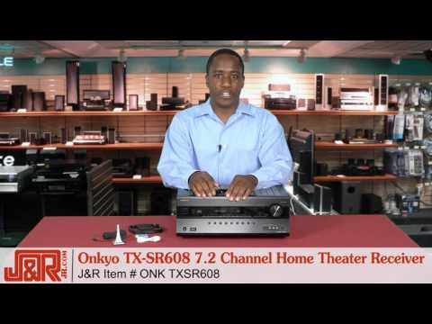Onkyo TX-SR608 Home Theater Receiver -- Review