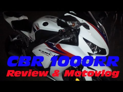 Honda CBR1000RR: Review and Motovlog featuring HP