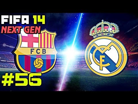 FIFA 14 NEXT GEN | Прохождение КАРЬЕРЫ | Real Madrid (#56) [El Classico! ]