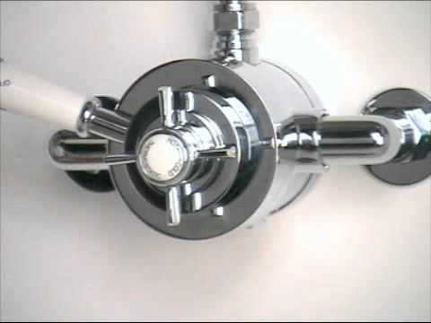 How To Use Traditional Thermostatic Shower Valve Controls - Bathstore User Guide