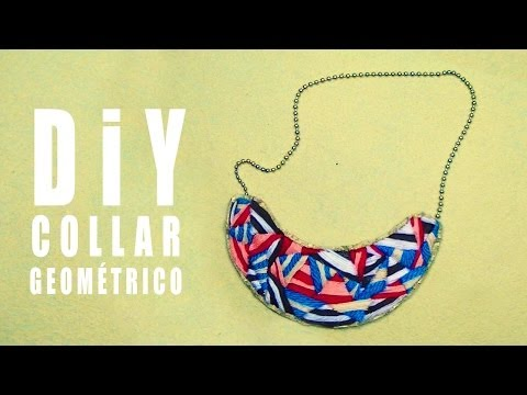 COLLAR BABERO  DIY  POR GEORGIO - bib necklace