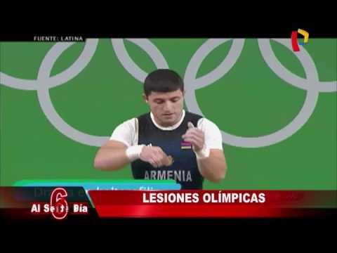 Río 2016: las lesiones que marcaron los Juegos Olímpicos