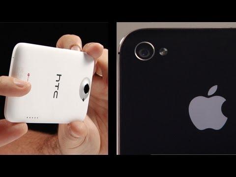 HTC One X vs iPhone 4S Camera Test